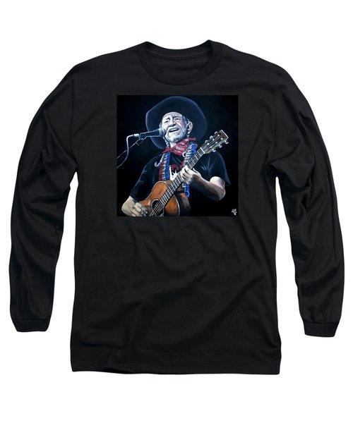Willie Nelson 2 Long Sleeve T-Shirt