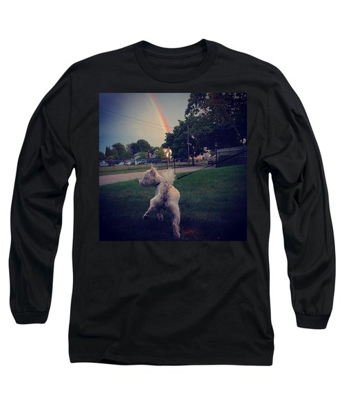 Gold At The End Of The Rainbow Long Sleeve T-Shirt