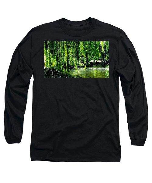 Willow Green Long Sleeve T-Shirt