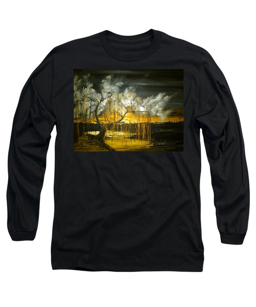 Willow On The Shore Long Sleeve T-Shirt