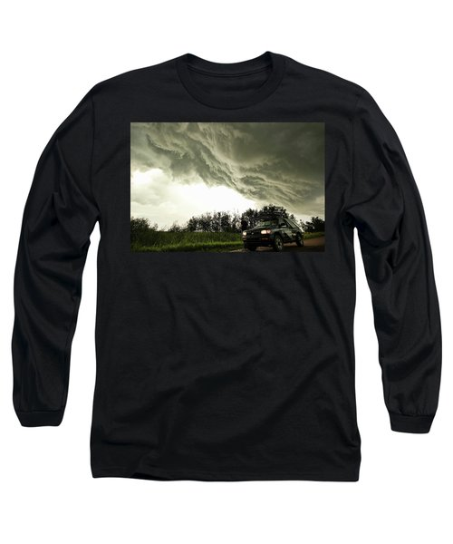 Long Sleeve T-Shirt featuring the photograph Willowbrook Beast by Ryan Crouse
