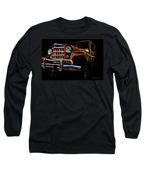 Willy's Station Wagon Long Sleeve T-Shirt