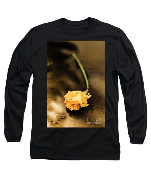 Wilting Puddle Flower Long Sleeve T-Shirt