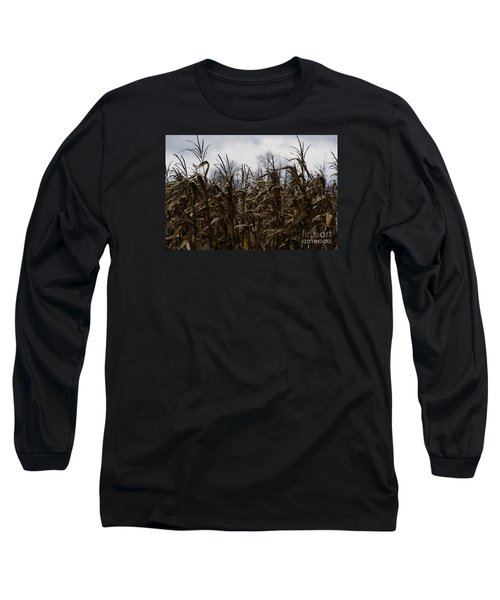 Wind Blown Long Sleeve T-Shirt by Linda Shafer