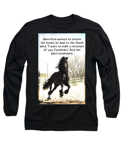 Wind In Your Mist Long Sleeve T-Shirt