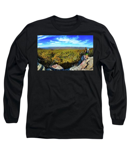 Wind Rock Panorama Long Sleeve T-Shirt