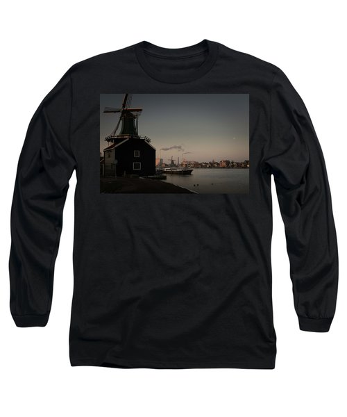 Windmill Town Long Sleeve T-Shirt