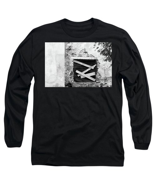 Window #2895 Long Sleeve T-Shirt