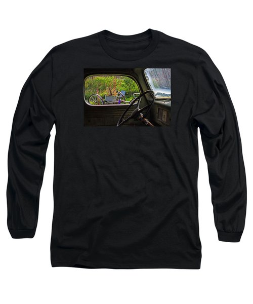 Window In Time Long Sleeve T-Shirt by Alana Thrower