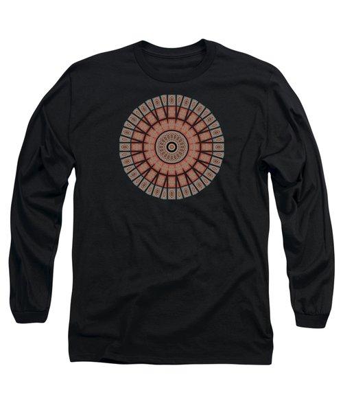 Window Mosaic - Mandala - Transparent Long Sleeve T-Shirt