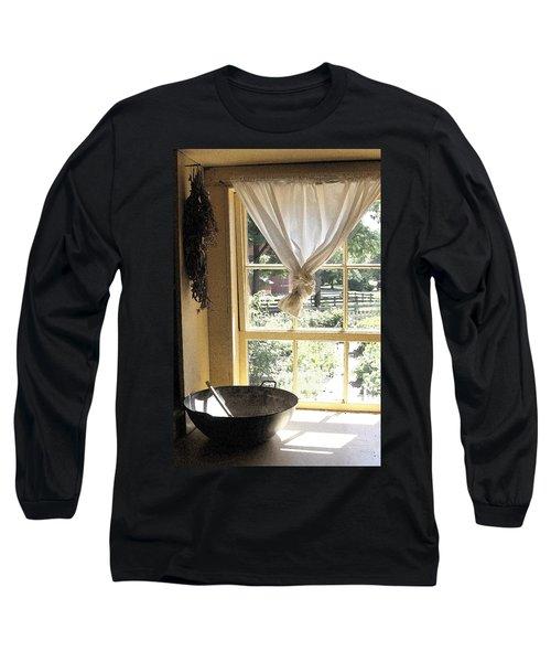 Window On Yesterday Long Sleeve T-Shirt