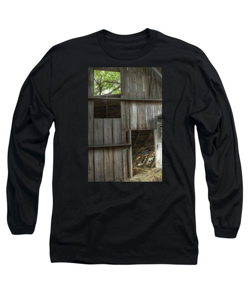 Window To The Present Long Sleeve T-Shirt