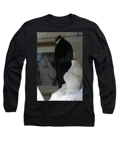 Window Wedding Attire Long Sleeve T-Shirt