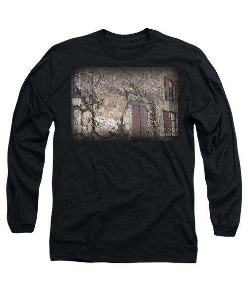 Long Sleeve T-Shirt featuring the photograph Windows Among The Vines by Victoria Harrington