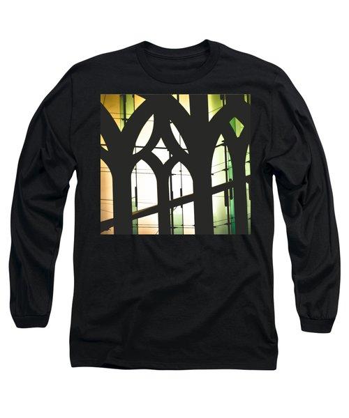 Windows Long Sleeve T-Shirt by Melissa Godbout
