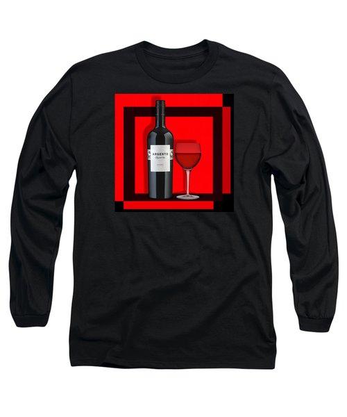 Wine Anyone-1 Long Sleeve T-Shirt