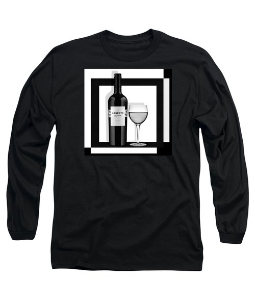 Wine Anyone Long Sleeve T-Shirt