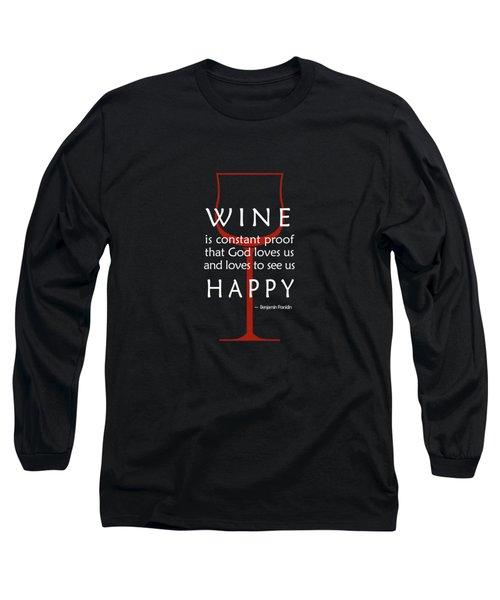 Wine Glasses 2 Long Sleeve T-Shirt