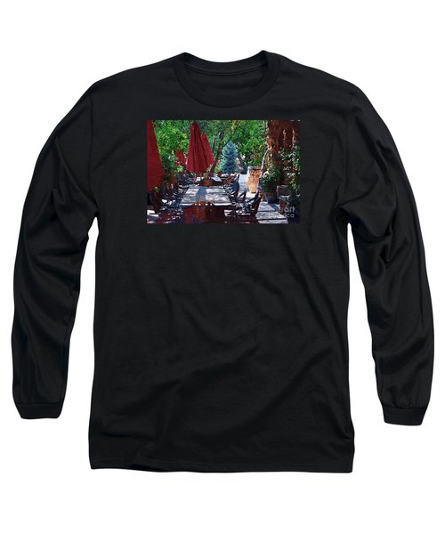 Wine Tasting Long Sleeve T-Shirt by Kirt Tisdale