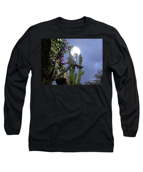 Winged Gargoyle In El Fuerte Long Sleeve T-Shirt