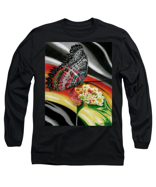 Long Sleeve T-Shirt featuring the painting Transforming Winds     by Peter Piatt