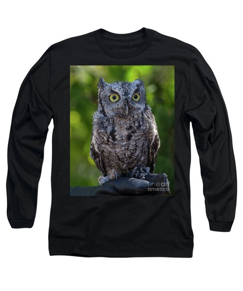 Winston Wildlife Art By Kaylyn Franks Long Sleeve T-Shirt