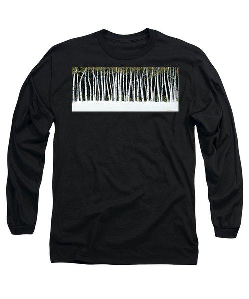 Winter Aspens II Long Sleeve T-Shirt