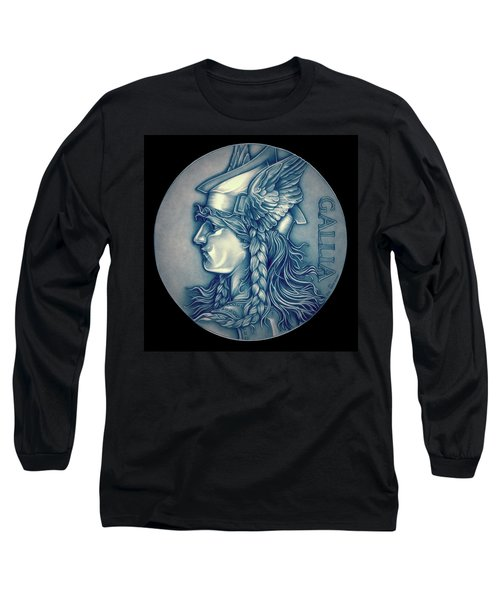 Winter Goddess Of Gaul Long Sleeve T-Shirt by Fred Larucci