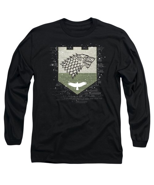 Winter Is Here Stark Banner Long Sleeve T-Shirt