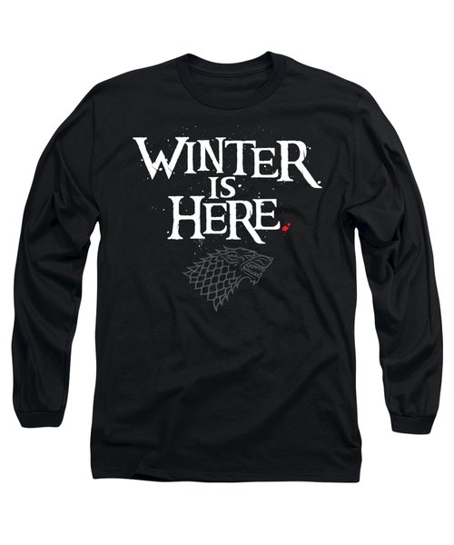 Winter Is Here - Stark Sigil Long Sleeve T-Shirt