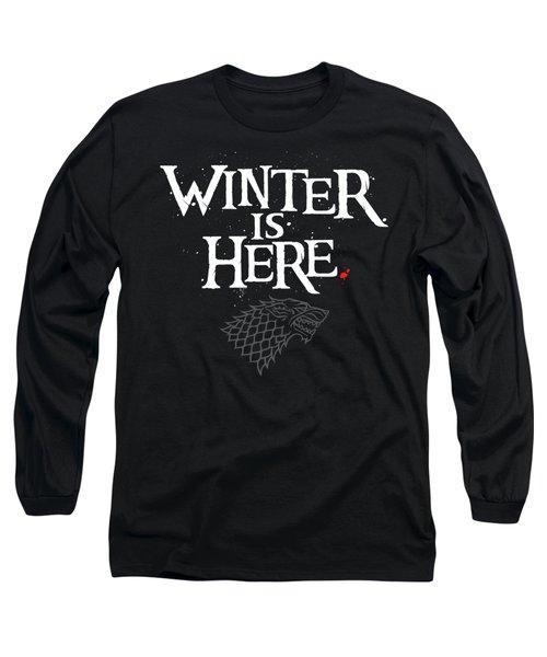 Winter Is Here - Stark Sigil Long Sleeve T-Shirt