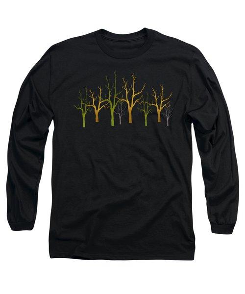 Winter Of Trees Long Sleeve T-Shirt