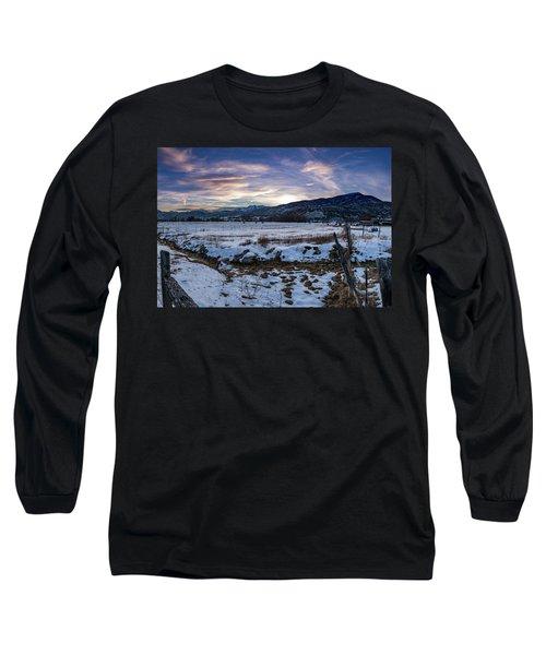 Sunset Range Long Sleeve T-Shirt