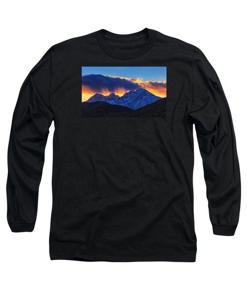 Sudden Splendor Long Sleeve T-Shirt by Rick Furmanek
