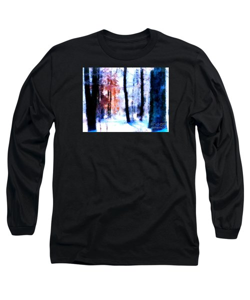 Winter Woods Long Sleeve T-Shirt by Craig Walters