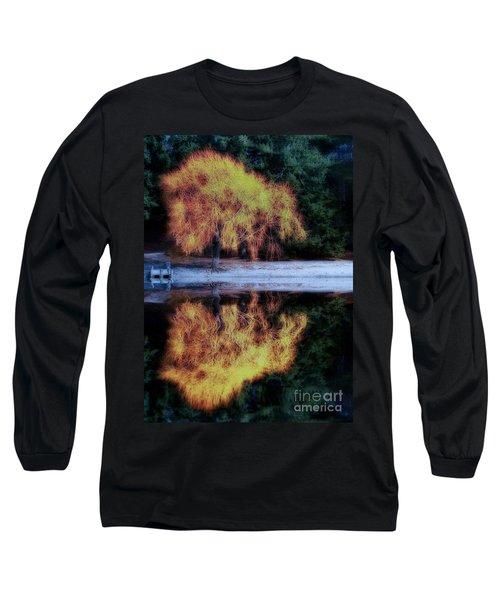 Winters' Embers Long Sleeve T-Shirt by Kym Clarke