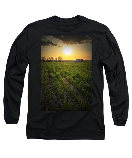 Wisconsin Farm Long Sleeve T-Shirt
