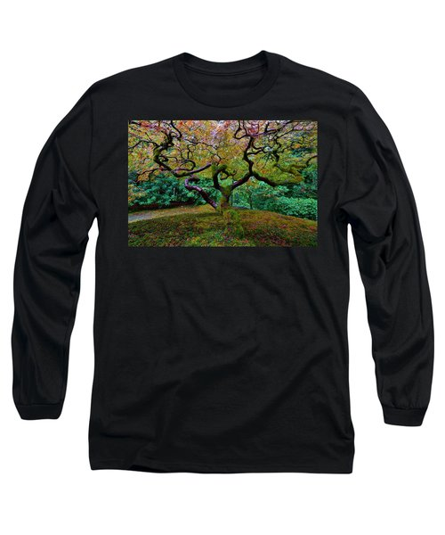 Long Sleeve T-Shirt featuring the photograph Wisdom Tree by Jonathan Davison