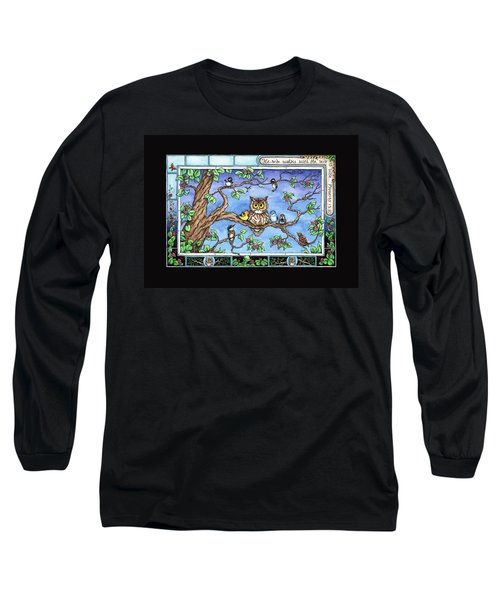 Wise Guys Long Sleeve T-Shirt by Retta Stephenson