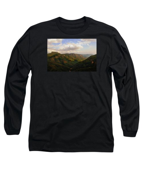 Long Sleeve T-Shirt featuring the photograph Wiseman's View by Jessica Brawley