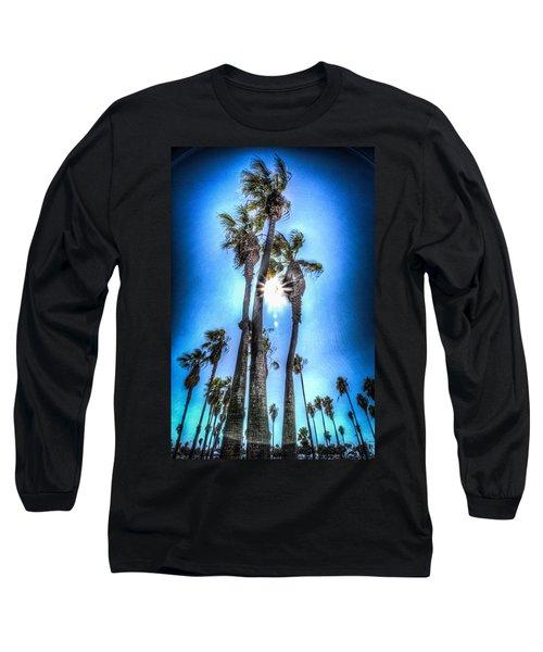 Wispy Palms Long Sleeve T-Shirt