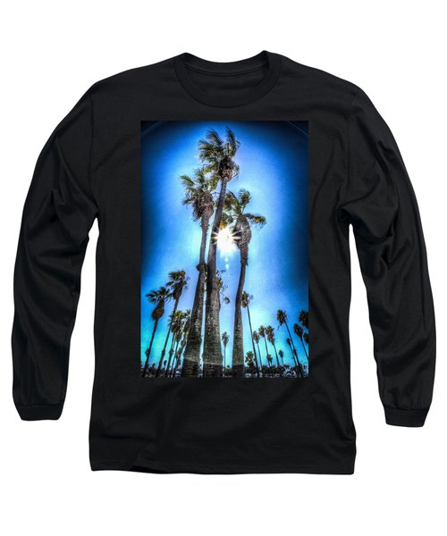 Wispy Palms Long Sleeve T-Shirt
