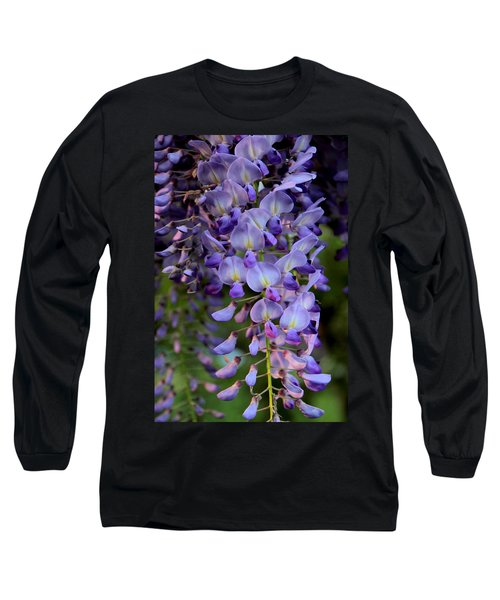 Wisteria In Bloom Long Sleeve T-Shirt