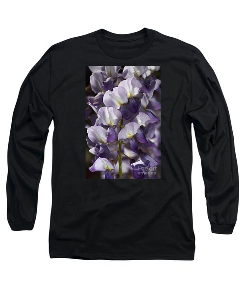 Wisteria In Spring Long Sleeve T-Shirt