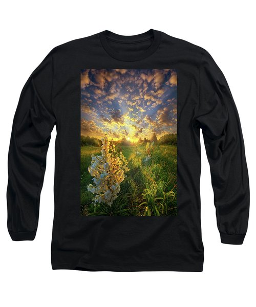 With An Angel By My Side Long Sleeve T-Shirt