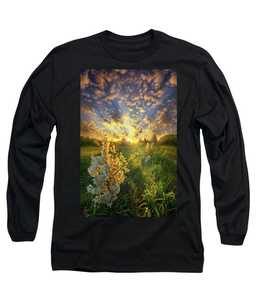 Long Sleeve T-Shirt featuring the photograph With An Angel By My Side by Phil Koch