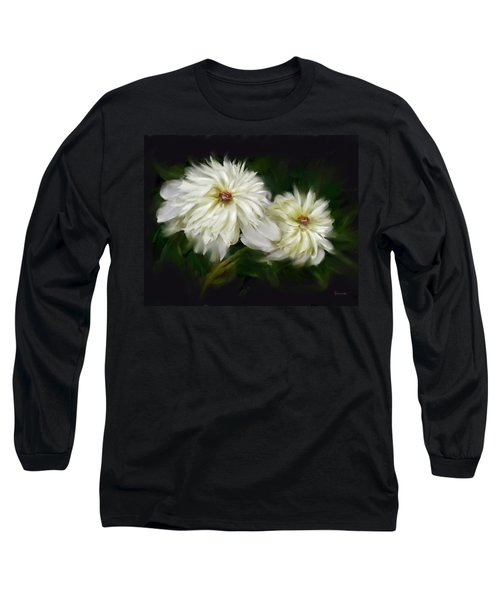 Withering Peony Long Sleeve T-Shirt by Bonnie Willis