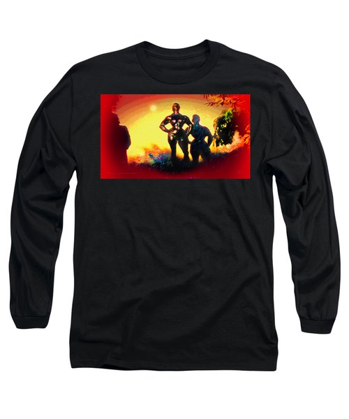 Witness At The Creation Of Eve Long Sleeve T-Shirt