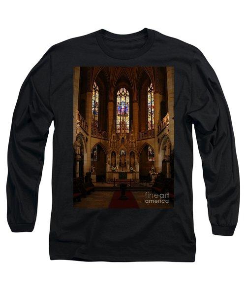 Wittenberg Castle Church 5 Long Sleeve T-Shirt
