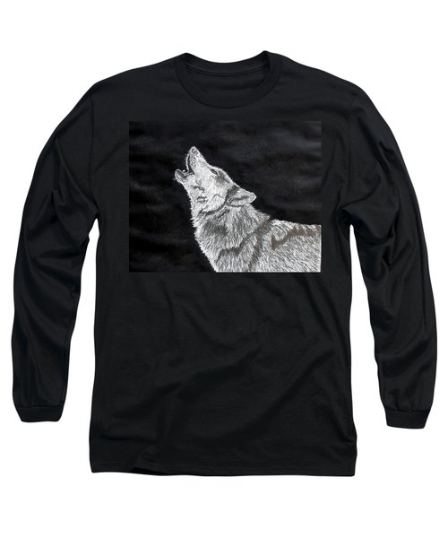 Wolf Howl Long Sleeve T-Shirt